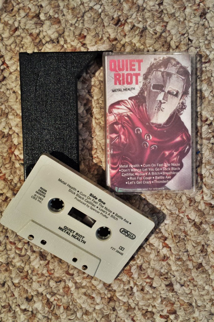 My ORIGINAL Quiet Riot cassette